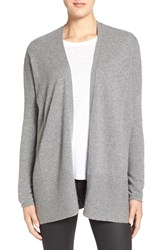 Women's Velvet By Graham And Spencer Cashmere Open Front Cardigan