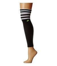 Nike Classic Leg Warmer Black White Volt Knee High Socks Shoes