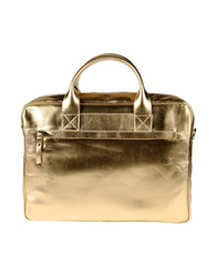 Doucal's Work Bags Gold