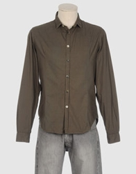Master Coat Long Sleeve Shirts Khaki