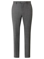 John Lewis Kin By Kennedy Salt And Pepper Slim Fit Suit Trousers Grey