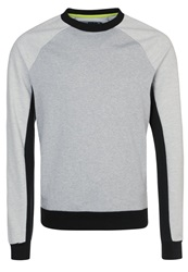 Your Turn Active Sweatshirt Mottled Grey
