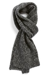 Men's Vince Ribbed And Marled Cashmere Scarf