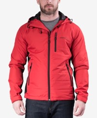 Hawke And Co. Outfitter Outfitters Down Ski Jacket Chilipepper Red