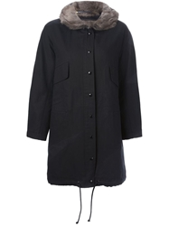 Liska Parka Coat Black