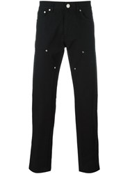 Givenchy Front Panel Jeans Black
