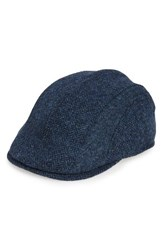 Barbour Men's Herringbone Tweed Wool Driving Cap