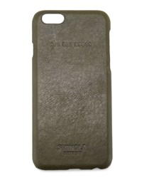 Leather Wrapped Iphone 6 Case Spruce Green Shinola