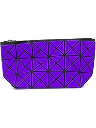 Bao Bao Issey Miyake 'Lucent Basic Pouch' Clutch Pink And Purple