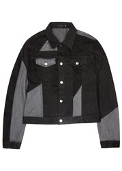 Blk Dnm Black Patchwork Denim Jacket