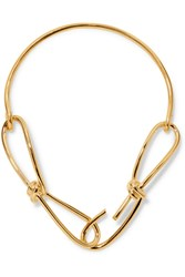 Annelise Michelson Wire Gold Plated Necklace