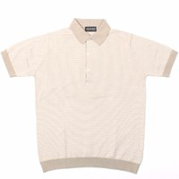 John Smedley Grist Polo French Beige