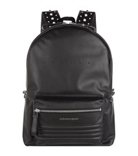 Alexander Mcqueen Studded Strap Backpack Unisex Black