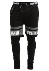 Karl Kani Etamin Tracksuit Bottoms Black