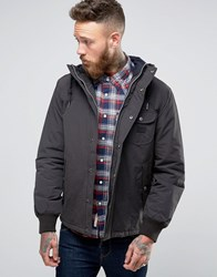 Lee Short Hooded Parka Coat Washed Black Washed Black