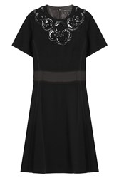 Marc By Marc Jacobs Dress With Sequin Embellishment Black