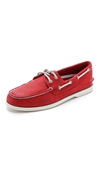 Sperry A O 2 Eye Echo Boat Shoes Red