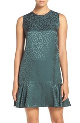 Bcbgmaxazria Women's 'Sheridan' Jacquard Silk Blend Shift Dress