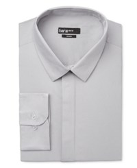 Bar Iii Men's Slim Fit Ice Gray Dress Shirt Only At Macy's Ice Grey