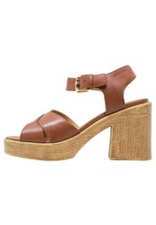 Vagabond Marva High Heeled Sandals Cognac