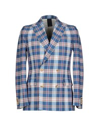 People Suits And Jackets Blazers Men Blue