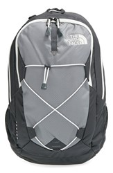 The North Face Men's 'Jester' Backpack Grey Zinc Grey Vaporous Grey