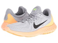 Nike Lunar Skyelux Pure Platinum Wolf Grey Peach Cream Black Men's Running Shoes White
