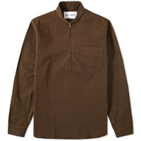 Our Legacy Shawl Zip Shirt Brown