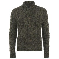 Polo Ralph Lauren Men's Shawl Cardigan Camo Green