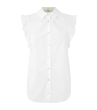 Stella Mccartney Frilled Shoulder Shirt