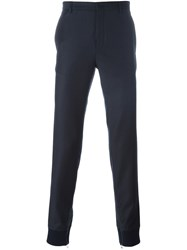 Lanvin Tailored Detail Track Pants Blue