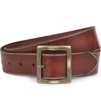 Paige Harper Leather Belt Brown