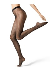 Fogal Spotted 15 Denier Tights Gr. M
