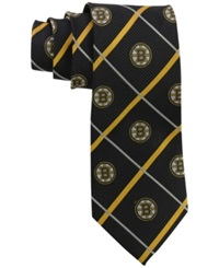 Eagles Wings Boston Bruins Necktie Black