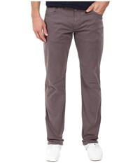 Mavi Jeans Zach Classic Straight Leg In Rabbit Twill Rabbit Twill Men's Brown