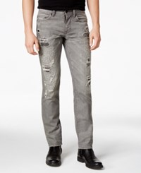 Dkny Jeans Williamsburg Grey Wash Slim Fit Jeans