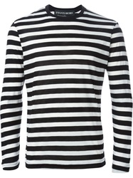 Enfants Riches Deprimes Striped Long Sleeve T Shirt Black