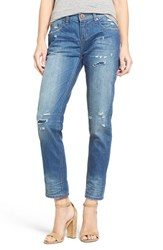 One Teaspoon Women's 'Awesome Baggies' Distressed Boyfriend Jeans