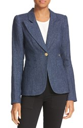 Smythe Women's Chambray Duchess Blazer