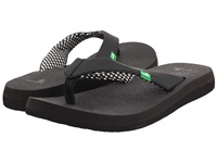 Sanuk Yoga Mat Ebony Women's Sandals Black