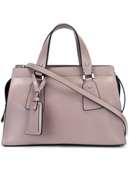 Giorgio Armani Rectangle Tote Bag Nude And Neutrals
