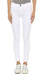 Frame Le High Skinny Jeans Blanc
