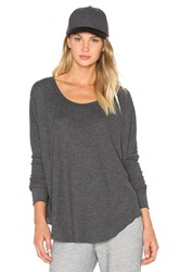 Wildfox Couture Basic Top Charcoal