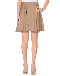 Molly Bracken Skirts Mini Skirts Women Khaki