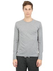 Alternative Apparel Organic Blend Long Sleeve Basic T Shirt