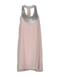 Almost Famous Short Dresses Pink
