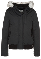 Schott Nyc Down Jacket Black