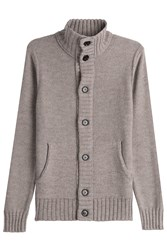 Baldessarini Virgin Wool Cardigan Beige