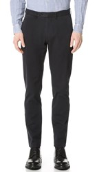 Todd Snyder Sanded Twill Tab Front Pants Black
