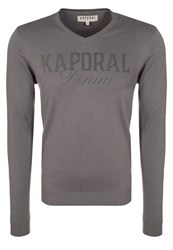 Kaporal Jumper Grey